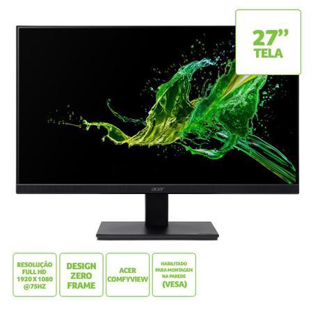 Imagem de Monitor Led 27'' Acer Hdmi Full HD IPS, 75Hz, 4ms - V277