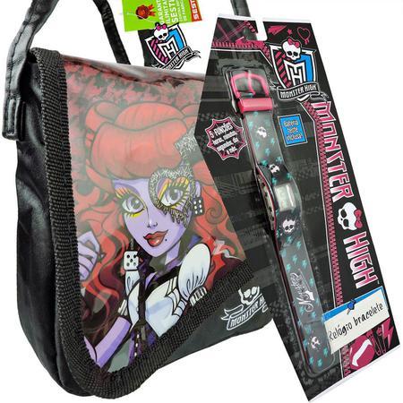 Imagem de Monster High Relógio de Pulso Digital  mais Bolsinha Operetta
