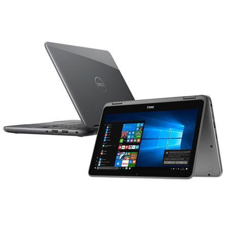 """Imagem de Notebook 2 em 1 Dell Inspiron 11 3168-A10, Intel Pentium Quad Core, 4GB, 500GB, Tela Touch 11.6"""" e Windows 10"""