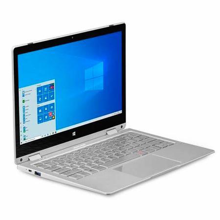 "Imagem de Notebook 2 em 1 Intel Pentium 4GB RAM 64GB eMMC Multilaser M11W PC302 11.6"" Windows 10 Cinza"