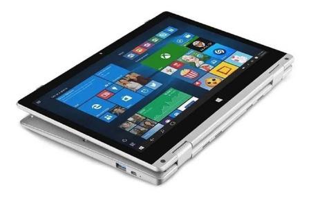 """Imagem de Notebook 2 em 1 Intel Pentium 4GB RAM 64GB Multilaser M11W Tela 11.6"""" Windows 10 PC301 Cinza"""