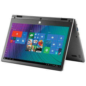 "Imagem de "" Notebook 2 em 1 M11W PLUS INTEL Celeron 2GB 64GB 11.6"""""""" Touch Screen FULL HD Windows 10 Cinza PC112 """