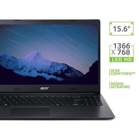 """Imagem de Notebook Acer AMD Ryzen 5-3500U 8GB 1TB W10 15.6"""" Preto"""