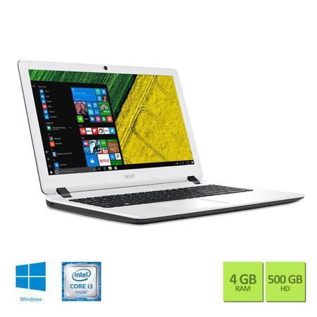 """Imagem de Notebook Acer Tela HD 15,6"""" ES1-572-347R Intel Core i3 4GB 500GB Windows 10"""