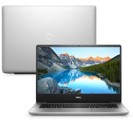 """Imagem de Notebook Dell Inspiron i14-5480-M10S 8ª Geração Intel Core i5 8GB 1TB Placa de Vídeo FHD 14"""" Windows 10 Prata McAfee"""