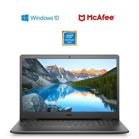 """Imagem de Notebook Dell Inspiron i3501-M10P 15.6"""" HD 11ª Geração Intel Pentium Gold 4GB 128GB SSD Windows 10 Preto"""