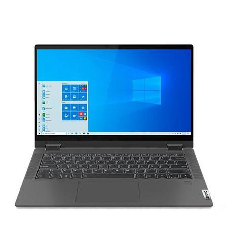 """Imagem de Notebook Lenovo 2 em 1, Intel  Core  i7 1065G7, 8GB, 256GB SSD, Tela de 14"""", Grafite, Ideapad Flex 5i - 81WS0004BR"""