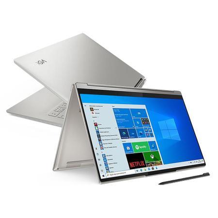 """Imagem de Notebook Lenovo Yoga 9i 2 em 1 14"""" i7-1185G7 8GB 512GB SSD Placa de Vídeo Intel Iris Xe W10 FHD WVA"""