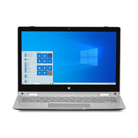 Imagem de Notebook M11W Prime 2 em 1 Intel Pentium Quadcore 4GB 64GB Windows 10 Home 11,6 Pol. Prata Multilaser - PC301