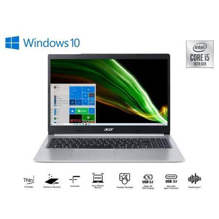 Imagem de Notebook Notebook A515-55-511q Intel Core I5-1035g1 3,6ghz 8gb 256gb Ssd15,6