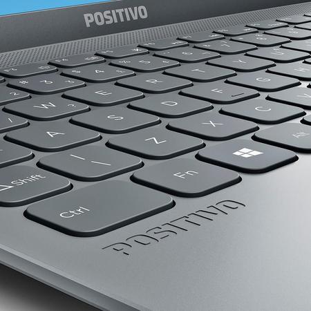 Imagem de Notebook Positivo Motion C41te Intel Celeron 14,1'' Cinza 4gb 1tb Hd