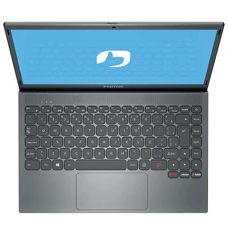 Imagem de Notebook Positivo Motion Grey 14 HD Celeron N3350 1TB 4GB Linux C41TEI