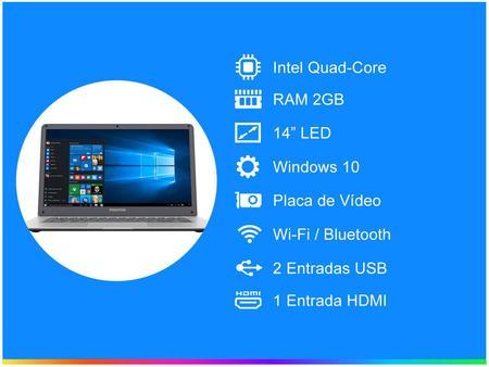 Imagem de Notebook Positivo Motion Q 232A Intel Quad Core