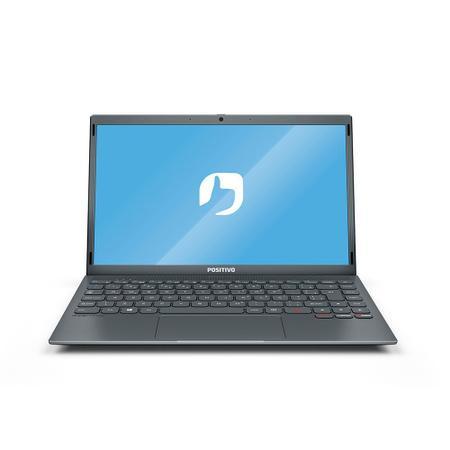 """Imagem de Notebook Positivo Motion Q4128C Intel Atom Quad-Core Windows 10 Home 14.1"""" - Cinza  Inclui Microsoft 365*"""