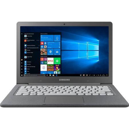 Imagem de Notebook Samsung Flash F30 Intel Celeron 4GB 64GB SSD Full HD 13.3 W10 - Cinza