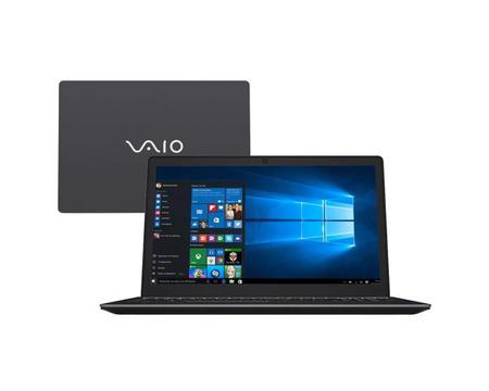 """Imagem de Notebook VAIO Fit F15S Intel Core i5 8GB 1TB Tela 15,6"""" Win 10 Cinza"""