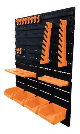 Imagem de Painel Porta Ferramentas 18 Peças Organizador Oficina Casa