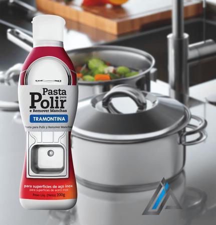 Imagem de Pasta para Polir e Remover Manchas do Aço Inox  - Tramontina