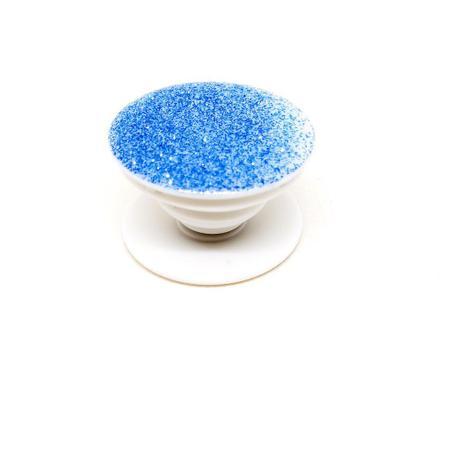 Imagem de Pop Socket Azul Brilhante com adesivo 3M