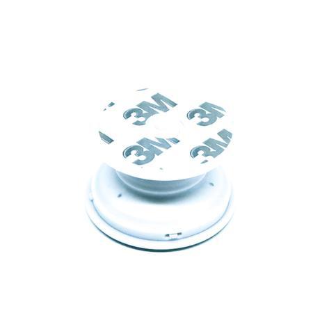Imagem de Pop Socket Branco com Glitter Cola 3M