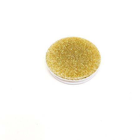 Imagem de Pop Socket Dourado Brilhante com adesivo 3M