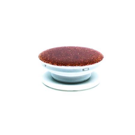 Imagem de Pop Socket Vermelho com Glitter Cola 3M