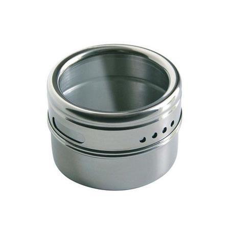 Imagem de Porta Condimentos Magnetico Aco Inox 5 Pecas Kehome 5976