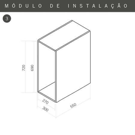 Imagem de Porta Temperos Inox 230 x 490 mm 4624 Masutti Copat