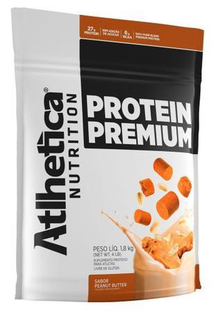 Imagem de PROTEIN PREMIUM Refil 1,8 kg (Refil) - Peanut Butter (Amendoim) - Athlética