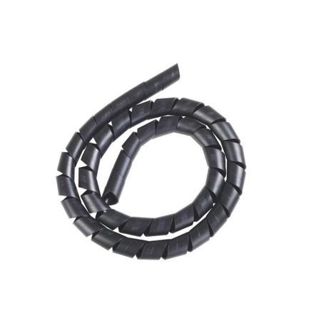 """Imagem de Protetor de cabos espiral 3/4"""" preto 5 metros - Tramontina"""