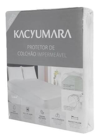 Imagem de Protetor De Colchão Solteiro Algodão Impermeável Kacyumara