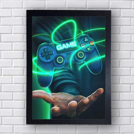 Imagem de Quadro Decorativo Gamer Mod 79 21x30cm