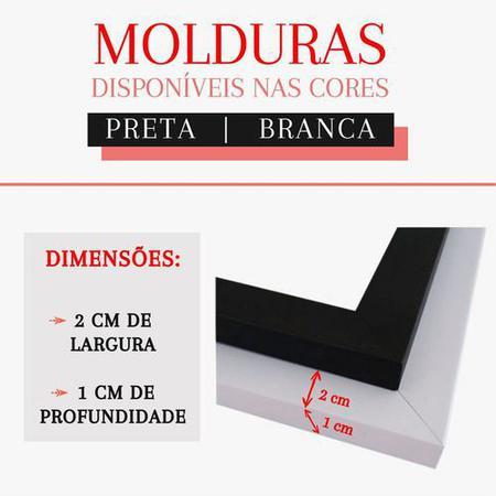 Imagem de Quadro Decorativo Kit Geométrico Mármore Rosa