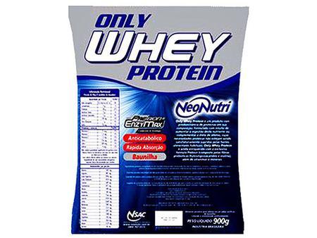 Imagem de Refil Only Whey Protein 900g Baunilha