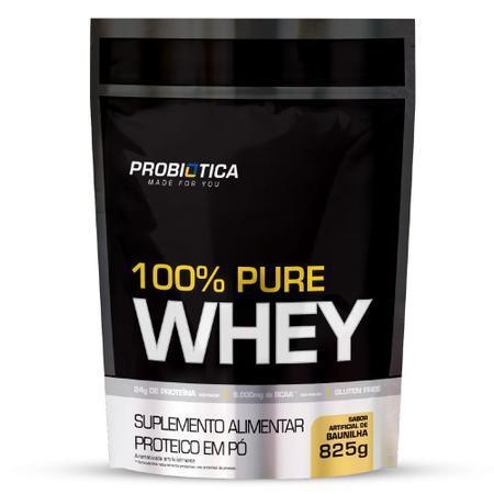 Imagem de Refil Whey 100% Puro 825g Probiotica Vários Sabores