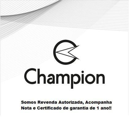 Imagem de Relogio Digital Champion Feminino Prata Espelhado com Kit Colar e Brincos