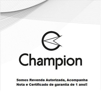 Imagem de Relogio Digital Feminino Champion Prata + Kit Colar e Brincos CH40080T