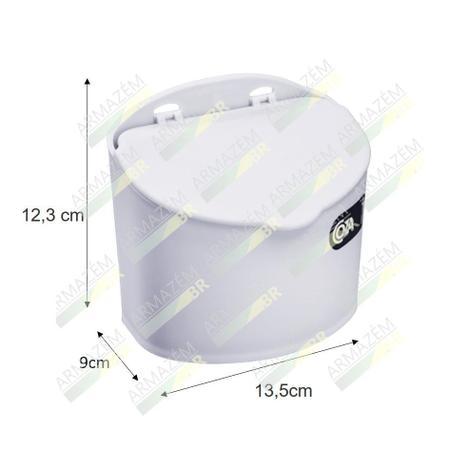 Imagem de Saleiro 500ml Suporte Porta Sal Açúcar Condimentos Pequeno Cozinha - 10843 Coza