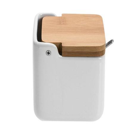 Imagem de Saleiro de Cozinha com Colher Lumen 250 ml - Home Style