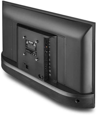 """Imagem de Smart TV 43"""" Multilaser Full HD, 3 HDMI, 2 USB Com Conversor Digital TL024 Wi-Fi 3 Bivolt Preto"""