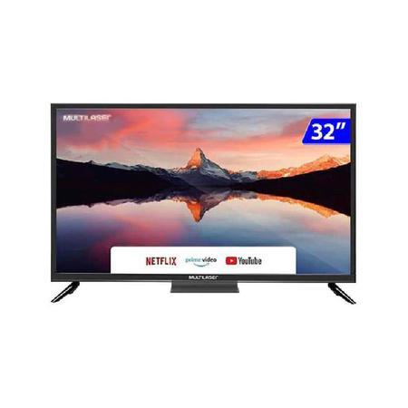 "Imagem de Smart TV LED 32"" HD Multilaser TL026 3 HDMI 2 USB Wi-Fi"