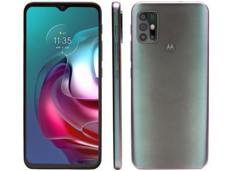 Imagem de Smartphone Motorola Moto G30 128GB Dark Prism 4G