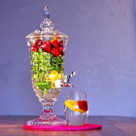 Imagem de Suqueira De Vidro 4,5 L Dispenser de Bebidas Diamond
