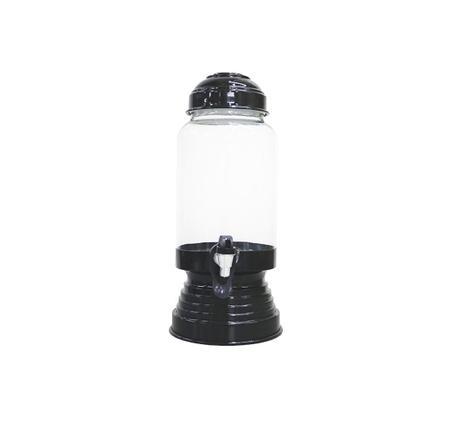 Imagem de Suqueira de vidro com tampa em alumínio capacidade de 3 litros