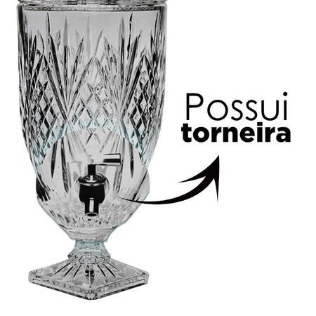 Imagem de Suqueira de vidro Monte Carlo 5 Litros - 123Util