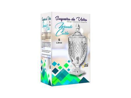 Imagem de Suqueira De Vidro Monte Carlo Dispenser Sucos 5 litros