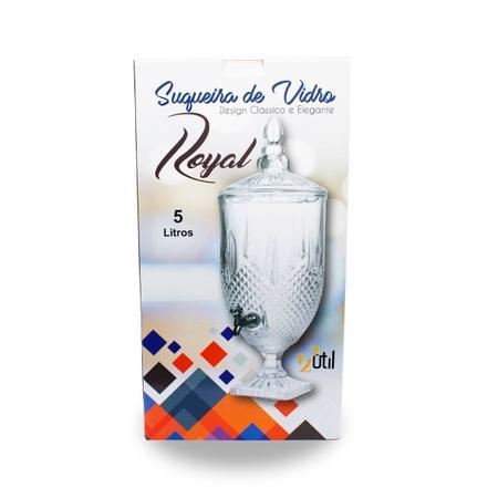 Imagem de Suqueira de vidro royal 5 litros