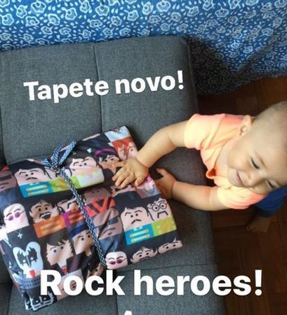 Imagem de Tapete Heróis do Rock