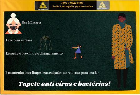 Imagem de Tapete higienizador Antivirus e bacterias