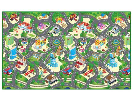 Imagem de Tapete Infantil Cidade